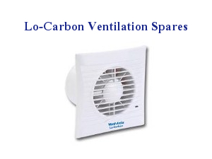 Vent Axia Lo-Carbon Domestic Ventilation Spares