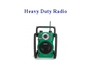 Xpelair Heavy Duty Radio