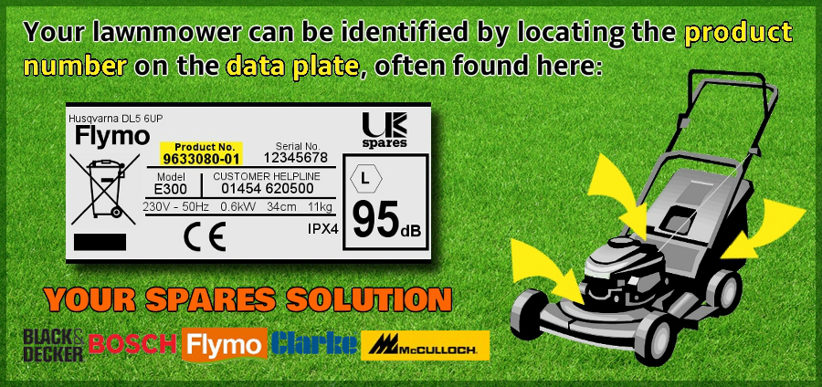 Lawnmower Rating Plate