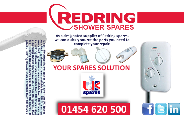Redring Shower Parts From UK Spares