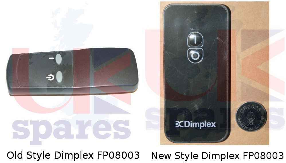 Dimplex Fp08003 Remote Control 2 Button
