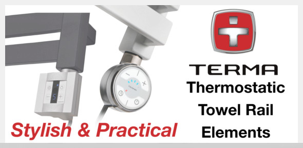 Terma Thermostatic Towel Rail Elements